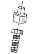 Krytka na matice a šrouby M 8 – SW 13